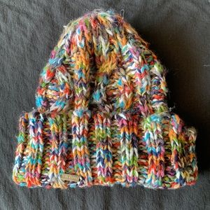 Accessories - Multi-Colored Crochet Billabong Beanie!